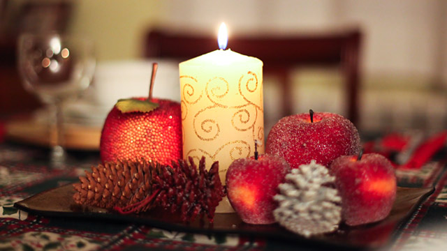 PHOTO: X-Mas candle
