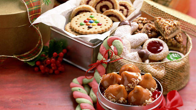 PHOTO: The mixture of stress, temptation, and the cold temperature outside can get us reaching for Christmas cookies and treats.
