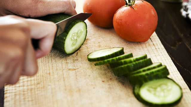 PHOTO: Cucumbers contain high percentages of water as well as anti-oxidants, and essential minerals.