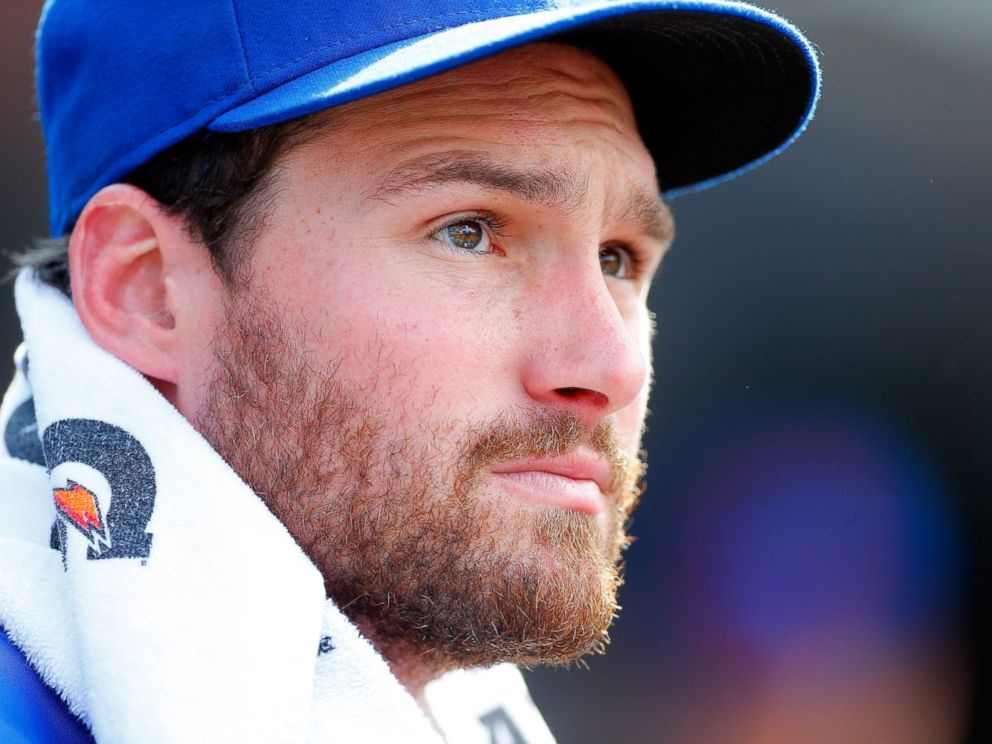 PHOTO: Daniel Murphy of the New York Mets looks on against the Philadelphia Phillies at Citi Field on Aug. 31, 2014 in the Queens borough of New York City.