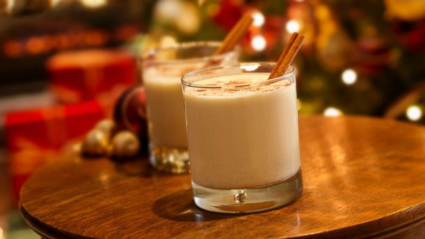 PHOTO: Eggnog is seen in this undated stock photo.