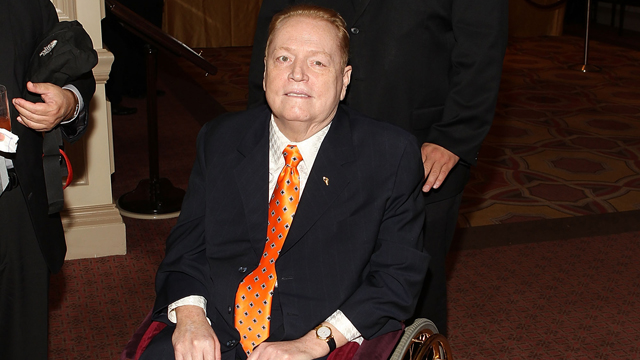 PHOTO: Larry Flynt arrives at the 18th Annual Larry King Cardiac Foundation Gala at Ritz Carlton Hotel on May 19, 2012 in Washington, DC.