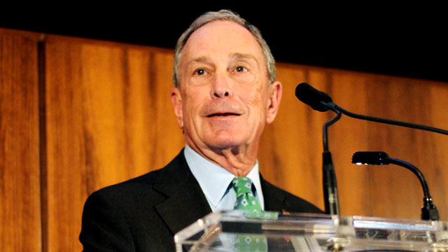 "PHOTO: Mayor Michael Bloomberg speaks at the ""Conde Nast Celebrates Editorial Excellence: Toast To Editors, Writers And Contributors,"" April 22, 2013, in New York City."