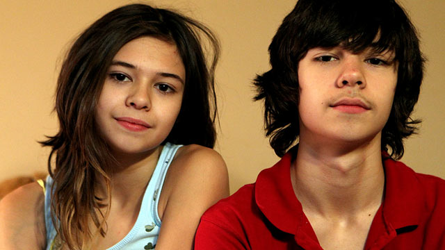 PHOTO: Identical 14-year-old twins, Nicole and Jonas Maines, started out life as Wyatt and Jonas. Nicole is transgender.