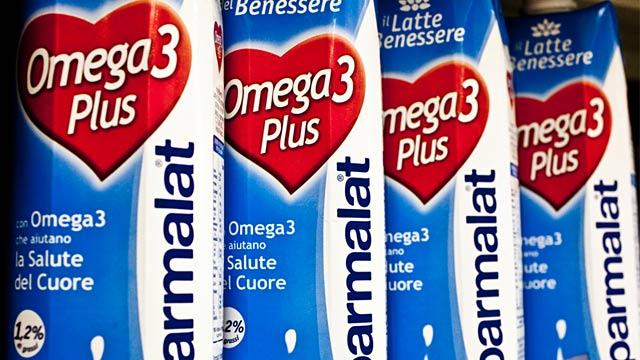 PHOTO: Omega 3 milk