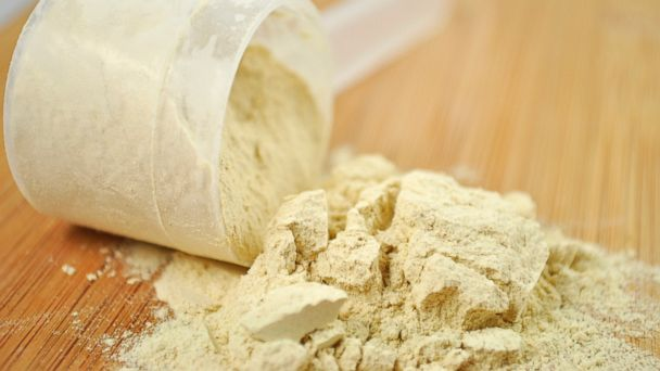 PHOTO: Protein powder is seen in this undated stock photo.