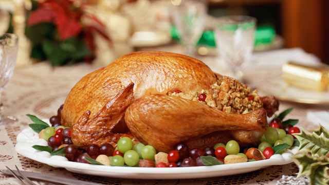 PHOTO: Contrary to popular belief, eating turkey on Thanksgiving does not make a person sleepy.