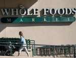 PHOTO: A customer arrives at a Whole Foods Market Inc. store in San Francisco, California, U.S., in this Nov. 1, 2011 file photo.
