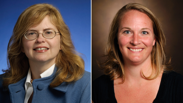 PHOTO: Drs. Marion Kainer and April Pettit were central to solving the meningitis outbreak, which has so far sickened 438 patients in 19 states.