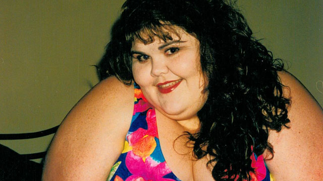 PHOTO: Zsalynn weighs more than 450 pounds and resorts to modeling for men with fetishes to pay for her weight-loss surgery.
