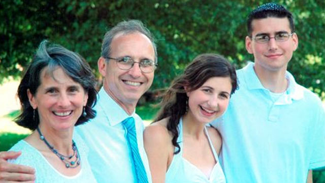 PHOTO: The Asselin family is seen here in happier days: Judy, Denis, Carrie and Nathaniel.