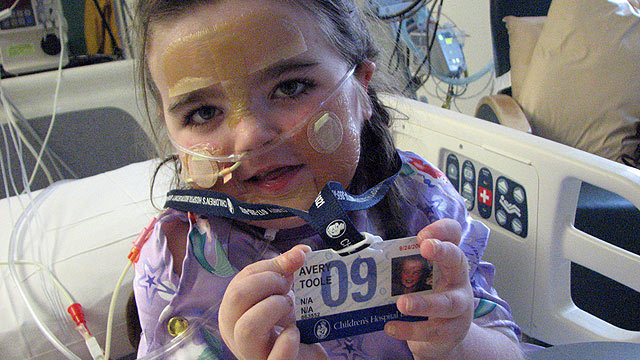 PHOTO: Avery Toole, 5 years old at the time this picture was taken, depended on a VAD to keep her alive until she could get a new heart.