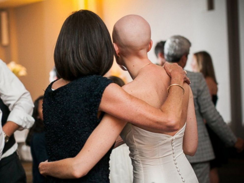 PHOTO: The couple was married in Washington D.C. last July. Jones has been in remission since late last fall.
