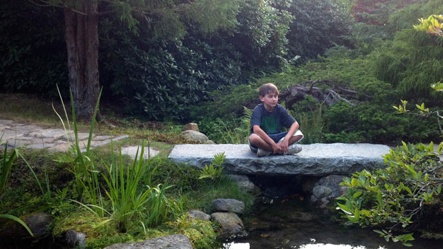 PHOTO: Hayden Kelly, 10-years-old, meditates at least five days a week.