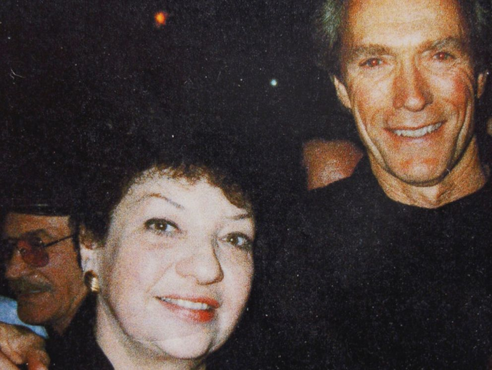 PHOTO: Former jazz singer Dolly Baker with actor Clint Eastwood.