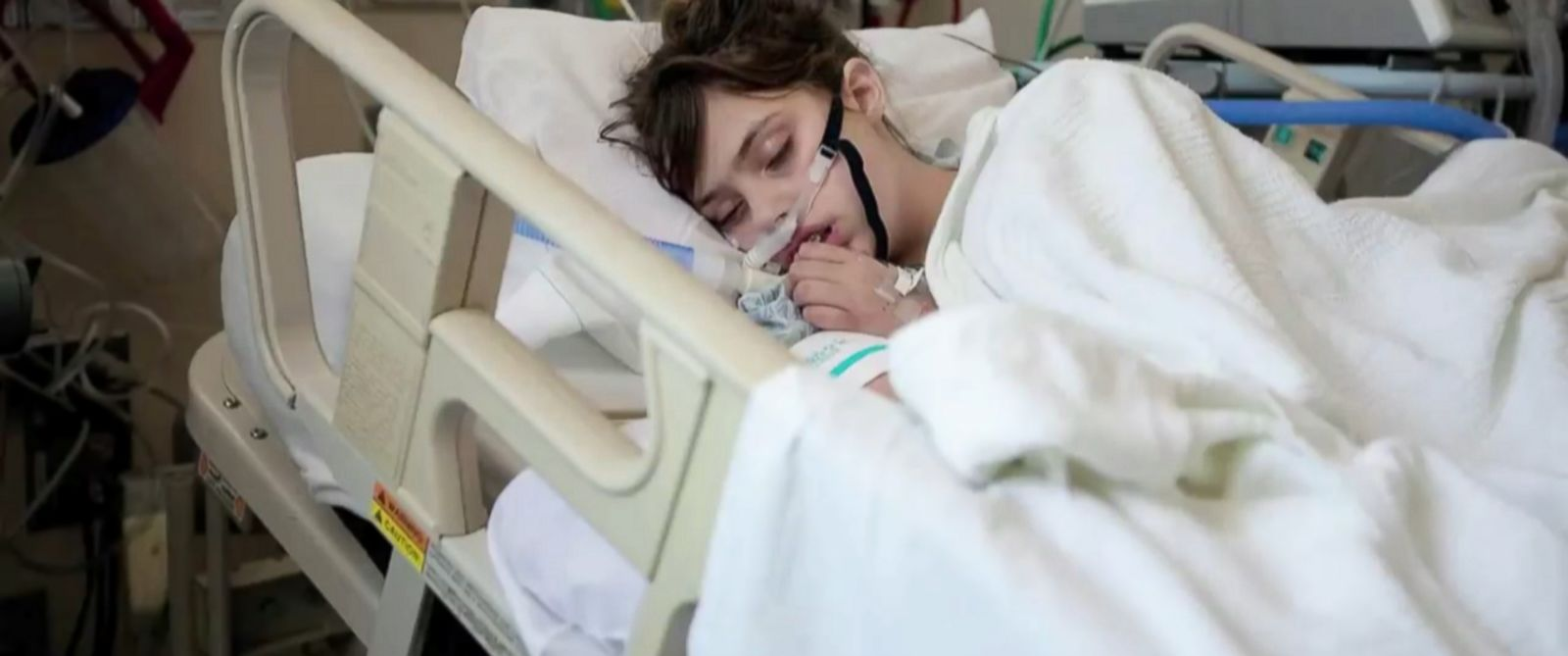 PHOTO: Claire Wineland was a coma for two weeks after undergoing surgery to help treat her cystic fibrosis.