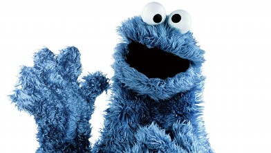 PHOTO: Cookie monster, a character from Sesame Street is seen here in this file photo.