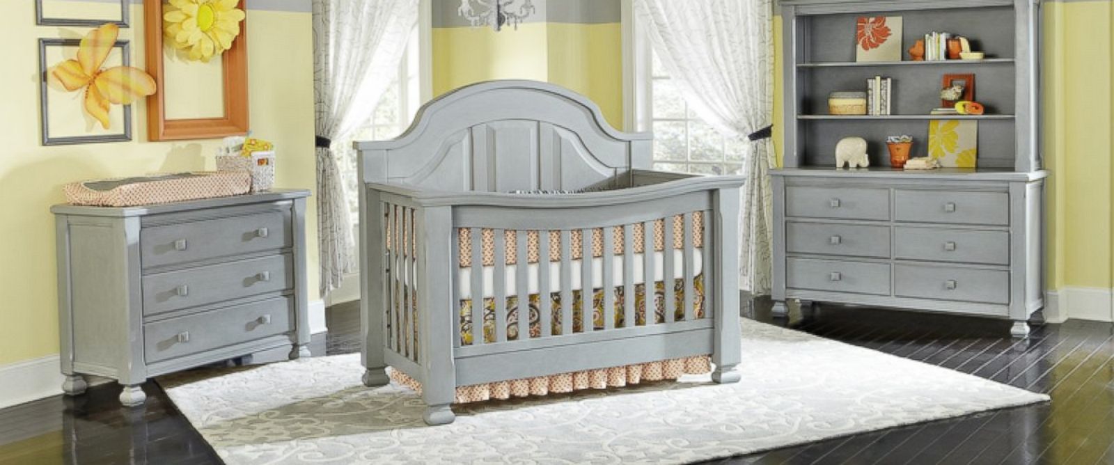 """PHOTO: The Consumer Product Safety Commission has announced a recall of cribs, furniture and accessories from Babys Dream that were sold in a """"vintage grey paint finish"""" because the paint exceeds federal lead limits."""