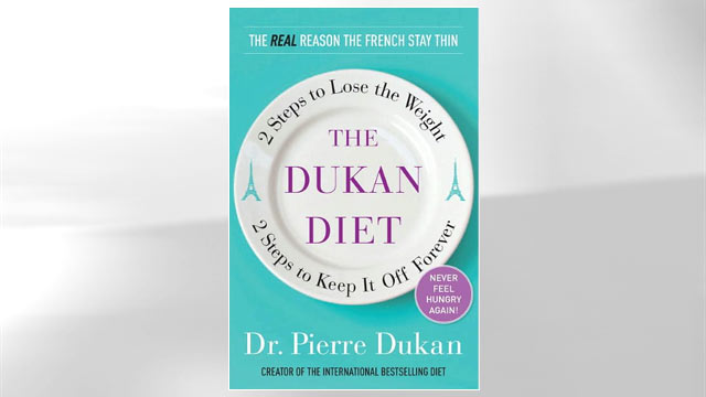 "PHOTO The cover of the book titled ""Dukan Diet"" is shown."