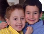 PHOTO: Dylan Siegel, right, wrote a book to help raise funds for his friend Jonah Pournazarian, left, who suffers from a liver disorder.