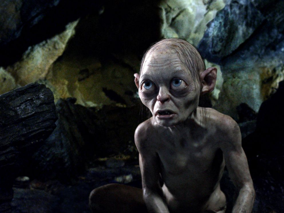 PHOTO: The character Gollum is shown in a scene from the fim The Hobbit: An Unexpected Journey.