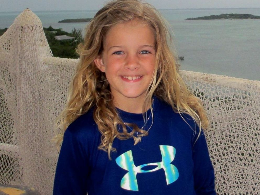 PHOTO: Hally Yust, 9, died last week because a rare brain-eating amoeba entered her nose while she played in freshwater.