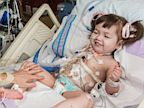 PHOTO: Hannah Warren, 2, was born without a windpipe and received an artificial trachea at OSF Saint Francis Medical Center, Peoria, Illinois.