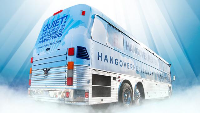 PHOTO: The Hangover Heaven bus