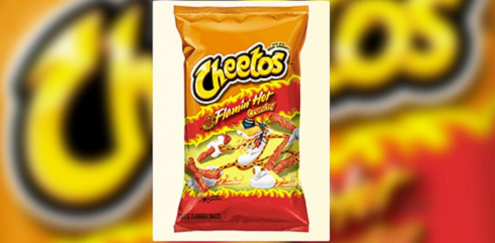 PHOTO: Spicy snacks, like Flamin Hot Cheetos, cause stomach problems with children according to doctors.
