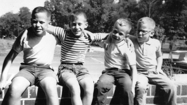 PHOTO:Jeffrey Kluger and brothers