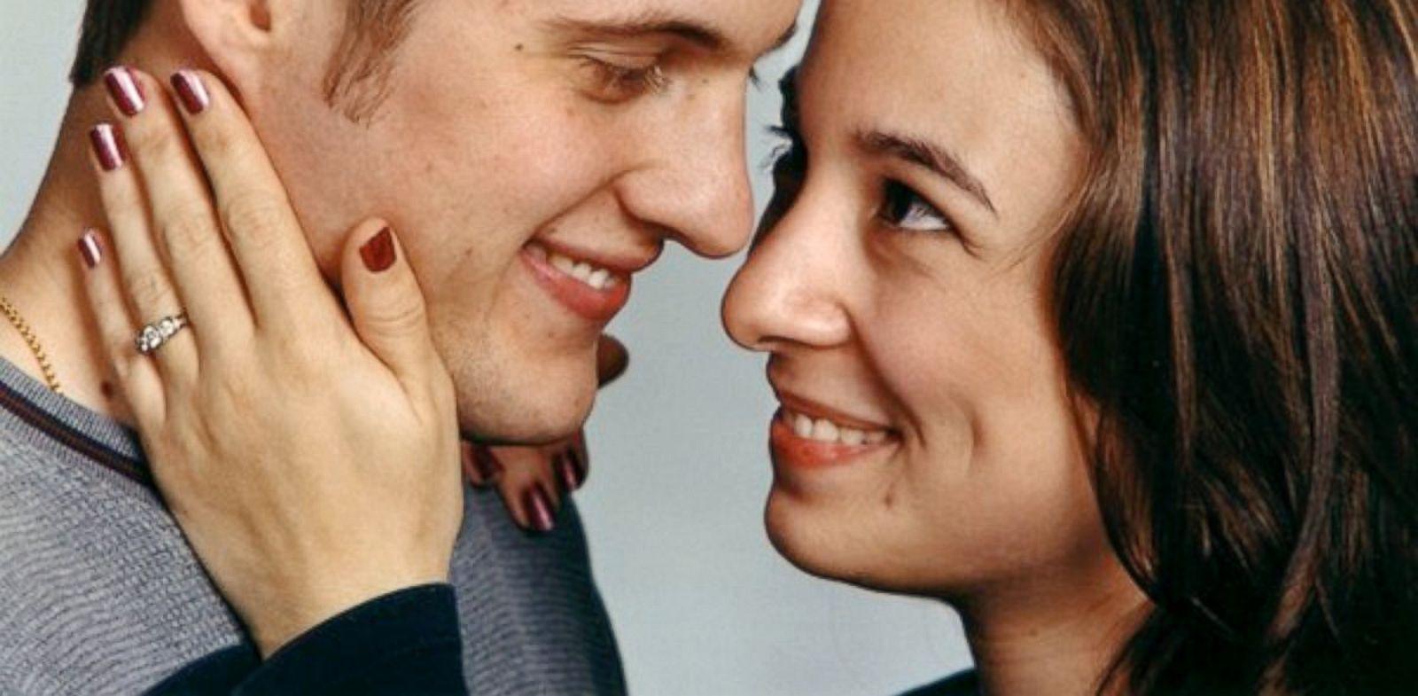 PHOTO: Cancer survivor Jennie Bushnell pictured with her husband Dan.