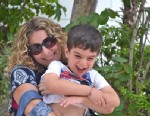 """PHOTO: """"Scary Mommy"""" blogger Jill Smokler and one of her sons."""