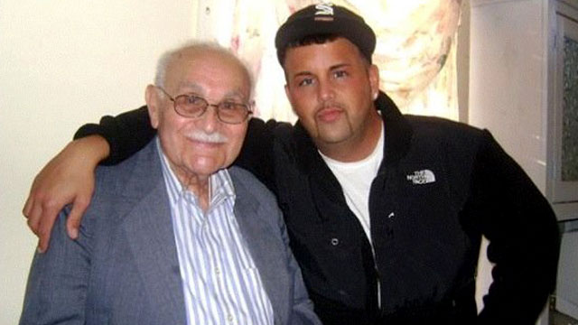 PHOTO: Josh Berman, 25 and from Dobbs Ferry, N.Y., says he would have no trouble talking to his grandfather, 91-year-old Bob Brand, about safe sex practices.