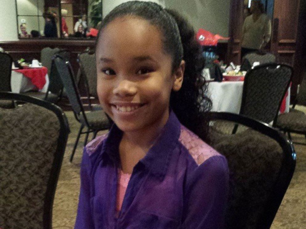 PHOTO: Doctors discovered a grapefruit-sized tumor inside Journee Woodard, 11, after her dental hygienist noticed that her eyes were a little bit yellow and suggested that her mother have her checked out.