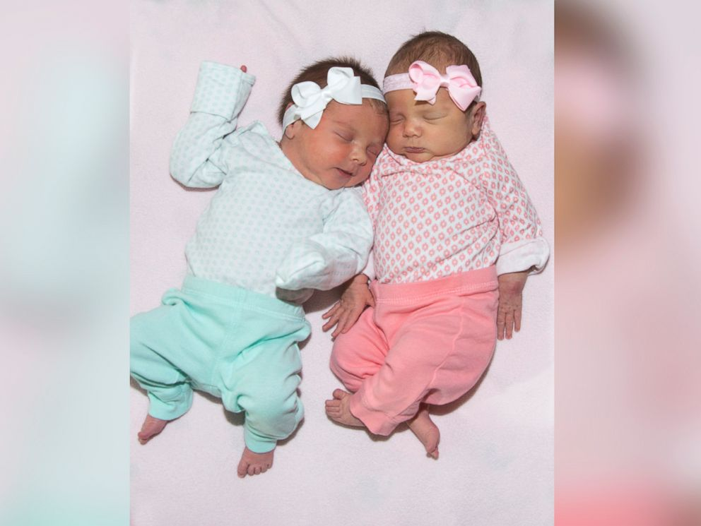 PHOTO: Kaylee and Kira born at Saint Lukes East Hospital in Lees Summit, Missouri.