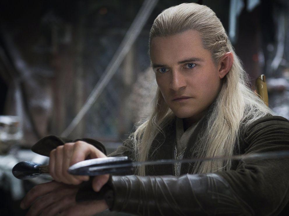 PHOTO: Orlando Bloom stars as Legolas in the film The Hobbit: The Desolation of Smaug.