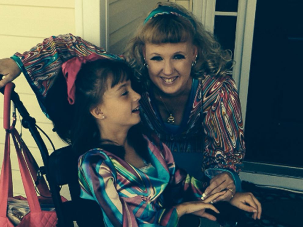 PHOTO: McKenzie has mitochondrial disease, which affects her ability to move and speak.
