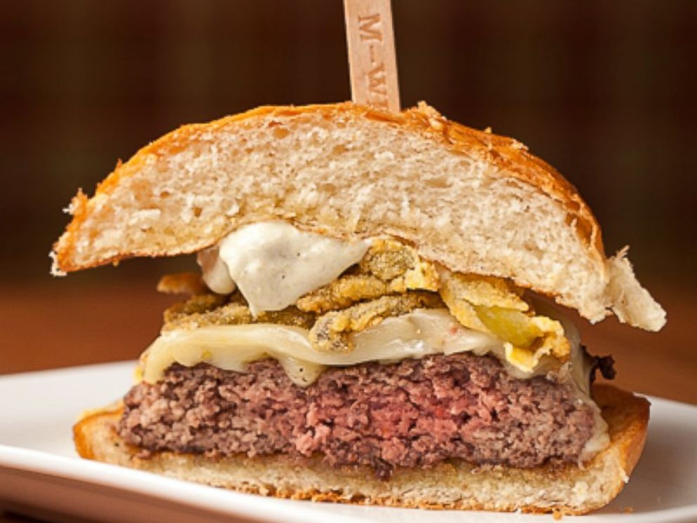 PHOTO: A view of a medium-well burger, courtesy of St. Louis Magazine.