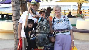 PHOTO Marilyn, 65, and Randy Nolen, 59, are pictured here with their two ten-year old sons, Travis Steven and Ryan David, on vacation.