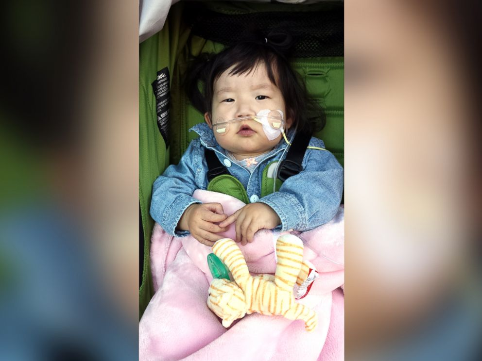 PHOTO: Olive Kang has been defying the odds for more than a year, but time is running out for her to get the heart-lung transplant.