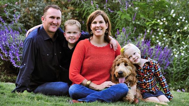 PHOTO: Partington family