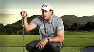 PHOTO Phil Mickelson on golf course