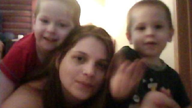 PHOTO: Sarah May Hatfield and sons