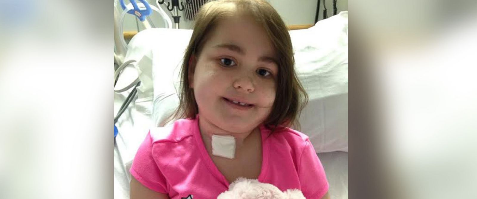 PHOTO: Sarah Murnaghan, who underwent a controversial adult lung transplant last year, had her tracheostomy removed.
