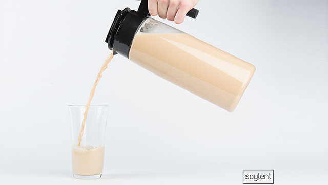 PHOTO: Soylent is made from 33 ingredients.