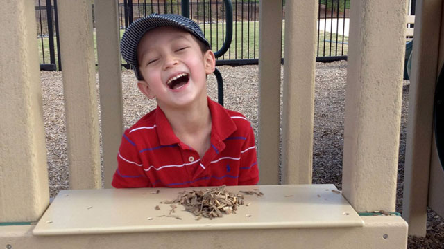 "PHOTO: Sam ""Spike"" Parrent, 6, of North Carolina has been healthy and seizure-free since a portion of his brain was removed."