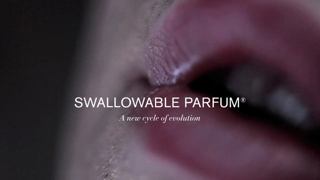 PHOTO:Lucy McRae is developing pill that turns sweat to perfume.