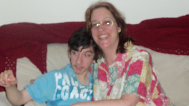 PHOTO: Tammy Lessick quit her job to care for her son, Dean, who has autism.