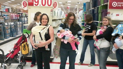 ht target nurse in tk 111228 wblog Breastfeeding at Target: Moms Stage National Demonstration