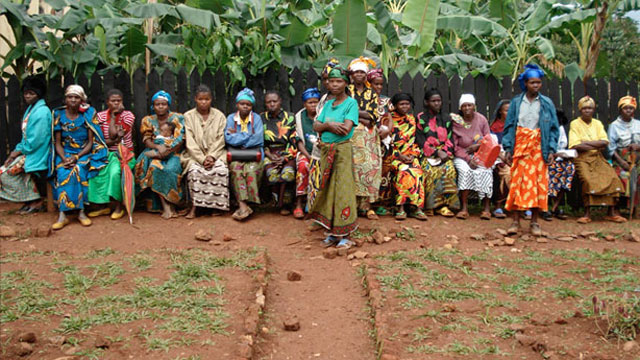 PHOTO: These Congolese women are sponsored by A Thousand Sisters, the first national grassroots effort for women in Congo, which to date has raised more than $11 million.